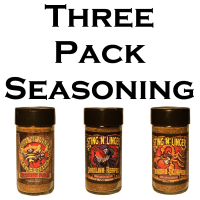 Three-Pack Seasoning - Sting N Linger Salsa Co.