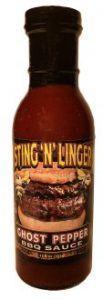 Ghost Pepper BBQ Sauce - Sting N Linger Salsa Co.