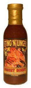 Desert Honey BBQ Sauce - Sting N Linger Salsa Co.