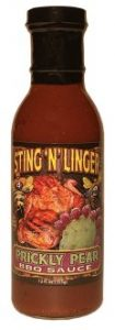 Prickly Pear BBQ Sauce - Sting N Linger Salsa Co.