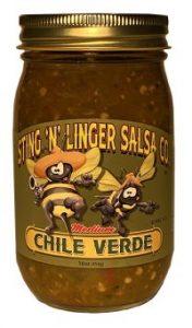 Chile Verde Salsa - Sting N Linger Salsa Co.
