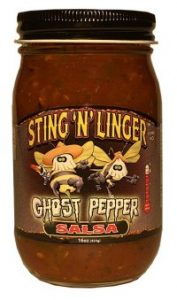 Ghost Pepper Salsa - Sting N Linger Salsa Co.