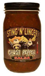 Ghost Pepper Salsa - Sting N Linger Salsa Co.