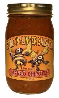 Mango Chipotle Salsa - Sting N Linger Salsa Co.