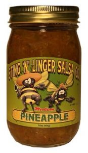 Pineapple Salsa - Sting N Linger Salsa Co.