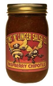 Raspberry Chipotle Salsa - Sting N Linger Salsa Co.