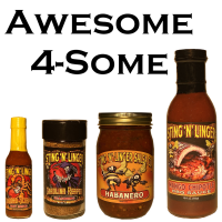 Awesome 4-Some - Sting N Linger Salsa Co.