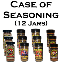 Case of Seasoning - Sting N Linger Salsa Co.