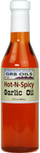 Hot & Spicy Garlic Oil - Sting N Linger Salsa Co.