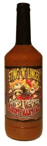 Ghost Pepper Bloody Mary Mix - Sting N Linger Salsa Co.