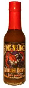 Carolina Reaper Hot Sauce - Sting N Linger Salsa Co.