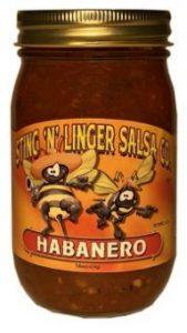 Habanero Salsa - Sting N Linger Salsa Co.