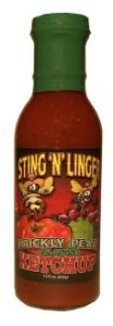 Prickly Pear Jalapeño Ketchup - Sting N Linger Salsa Co.