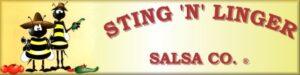 Sting N Linger Salsa Co. Logo Cerca 2000