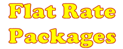Flat Rate Packages